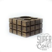 Деревянная подставка Куб