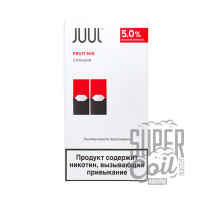 Картридж Juul Labs x2 JUUL 50 мг, 0,7 мл Fruit Mix - оригинал