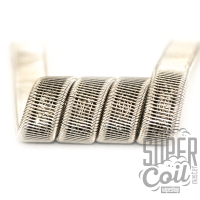 Double Corrugated Staple Staggered fused clapton - 2 шт