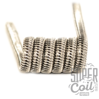 Half Staggered clapton coil - 2 шт